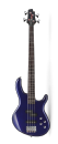 Cort Action Bass Plus Bass Guitar in Blue Metallic
